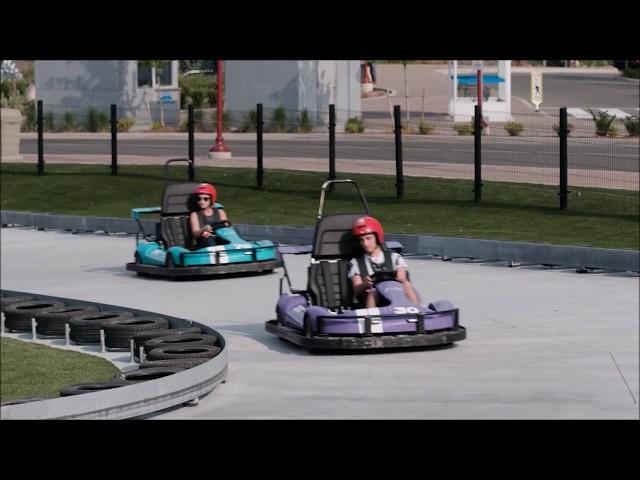 Video Mario Kart Inspired Racetrack Opens In Niagara Falls