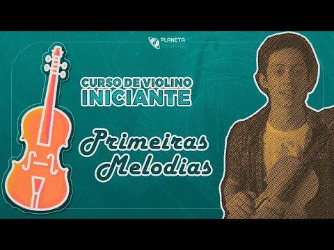 Curso Violino Iniciante | Aula Primeiras Melodias