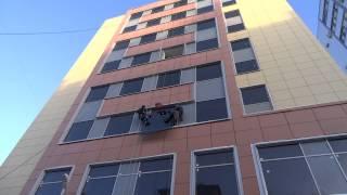 Ремонт фасадного остекления-903-798-77-91(Ремонт фасадного остекления офисного здания., 2014-01-26T11:54:00.000Z)