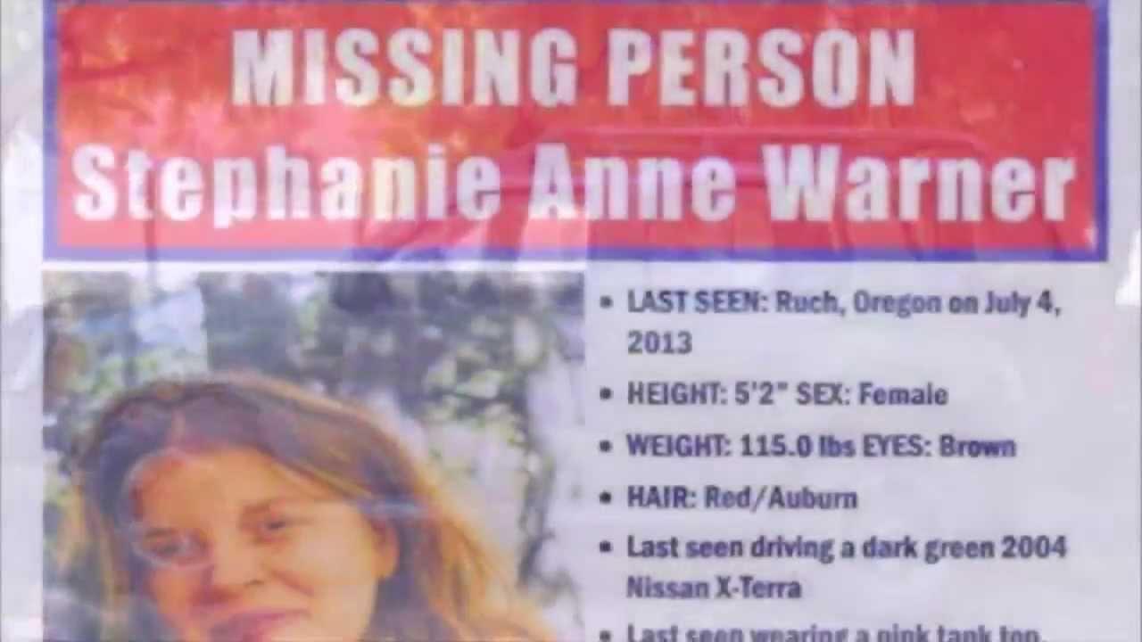 Stephanie Anne Warner - Missing Person - Ruch, Oregon ...