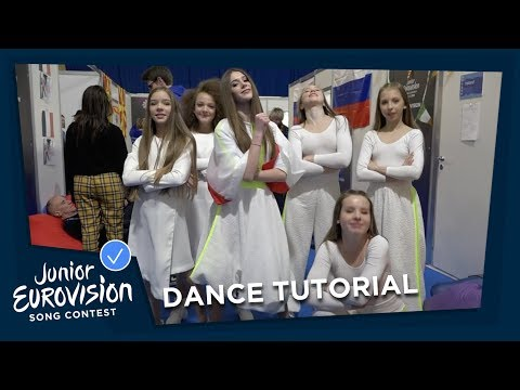 Learn to dance like the Junior Eurovision stars!