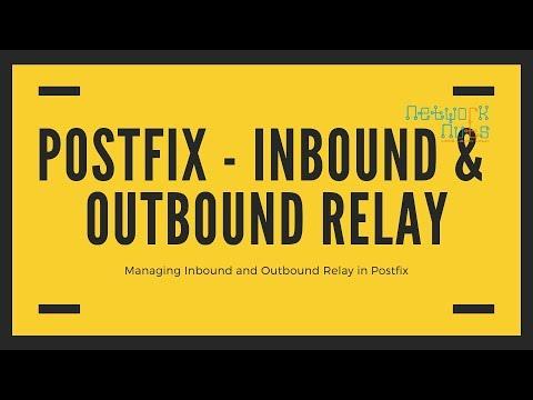 Managing Inbound & Outbound relay in Postfix - Linux Tutorials Online |  Networknuts