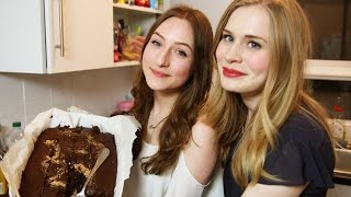 Vegan Peanut Butter Brownies With Kez!