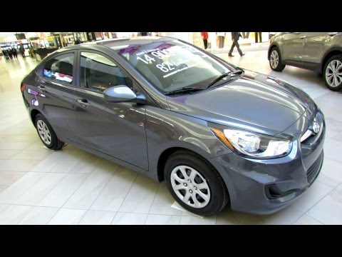 2013 Hyundai Accent GL Exterior and Interior Walkaround Place Vertu Montreal
