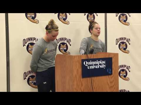 Women's Ice Hockey Post-game (10-22-16)