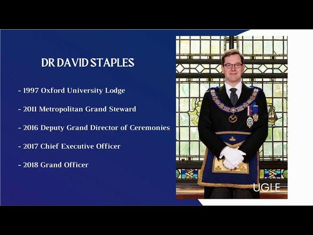 Grand Secretary interview with South Korean Freemason