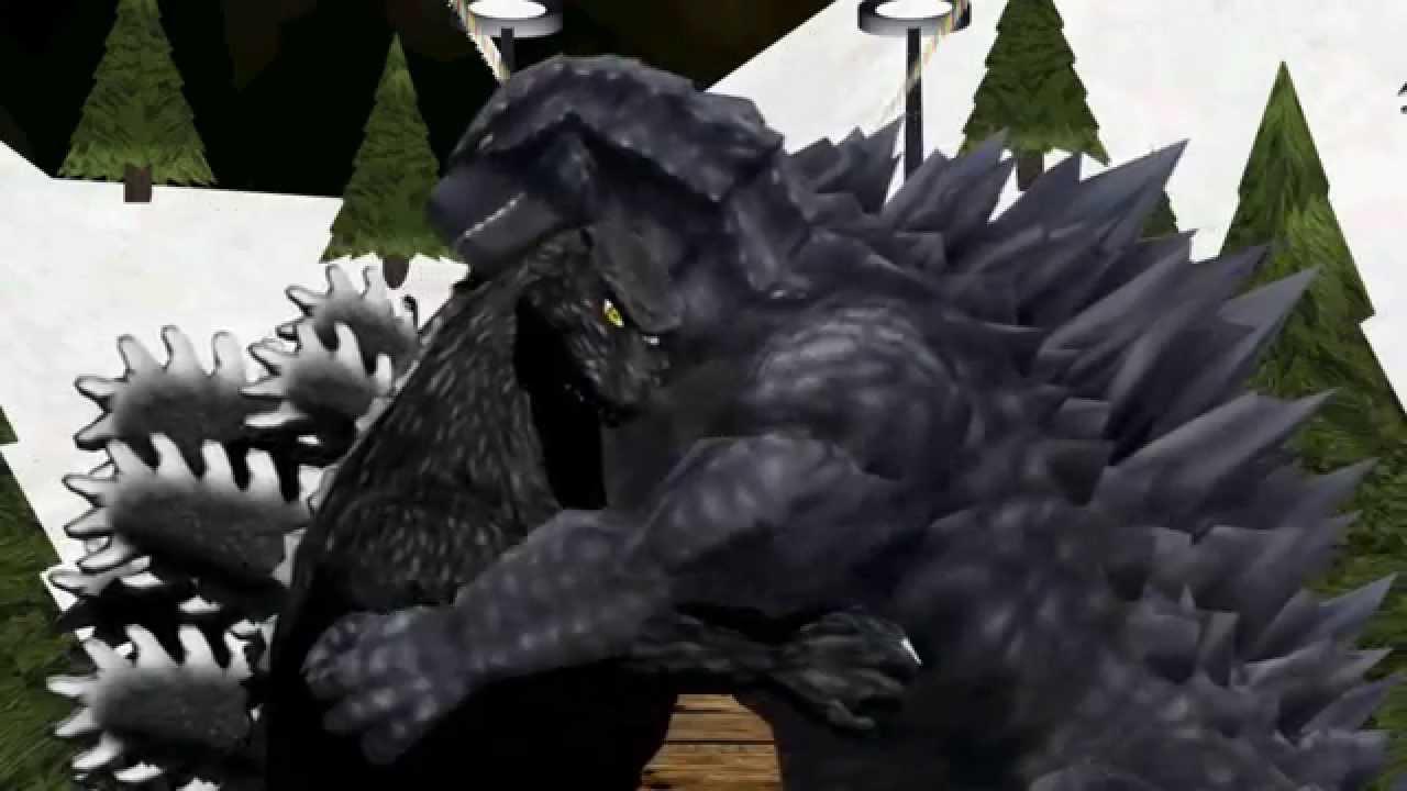[MMD 13+] Godzilla x G...