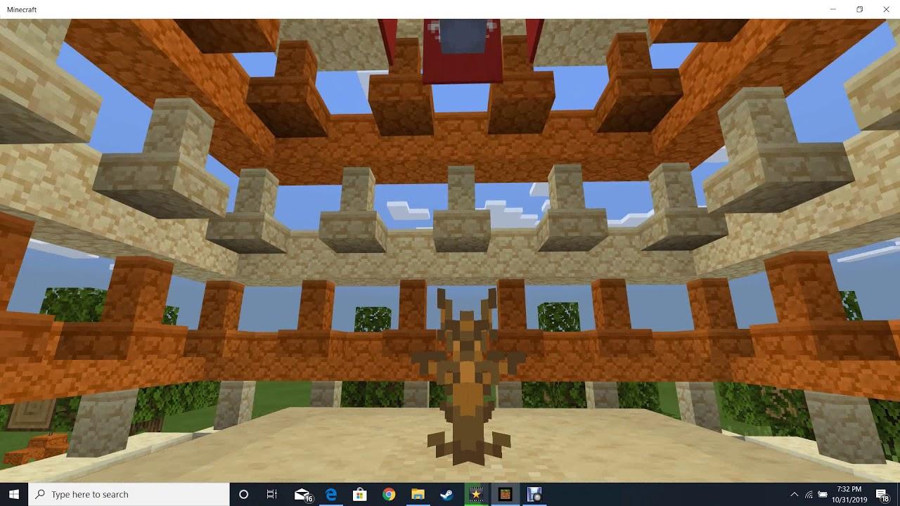 The Hanging Garden of Babylon in minecraft! (UPDATED) Also hi Mr.Daines again!