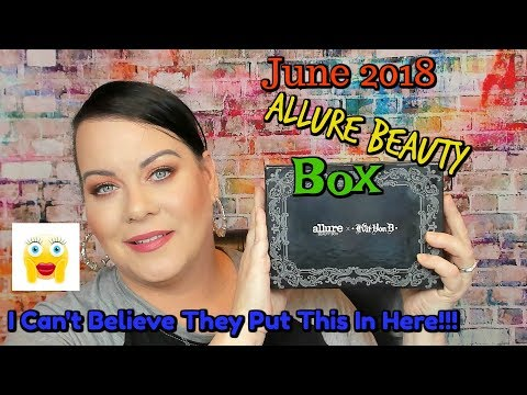 Did They Really Put That In Here!?! // Allure Beauty Box June 2018