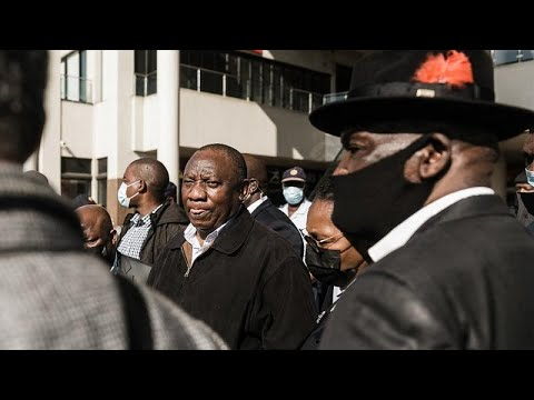 Ramaphosa describes recent unrest as ''failed insurrection''