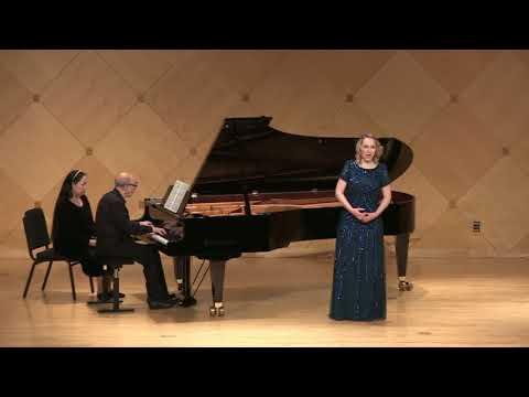 """Angela Brower, mezzo-soprano - Copland's """"At the River"""""""