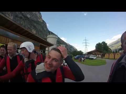 Rafting Österreich Tirol Outdoor Planet JGA Malte GoPro Hero 3+ Silver