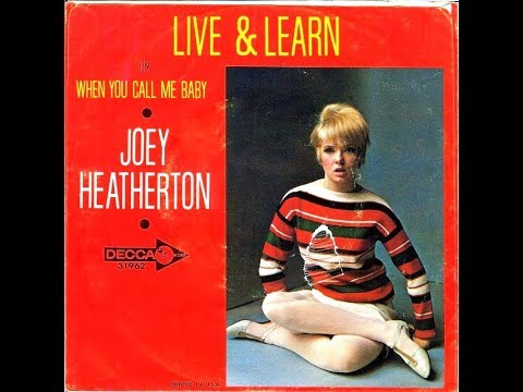 Joey Heatherton - LIVE AND LEARN  (1966)