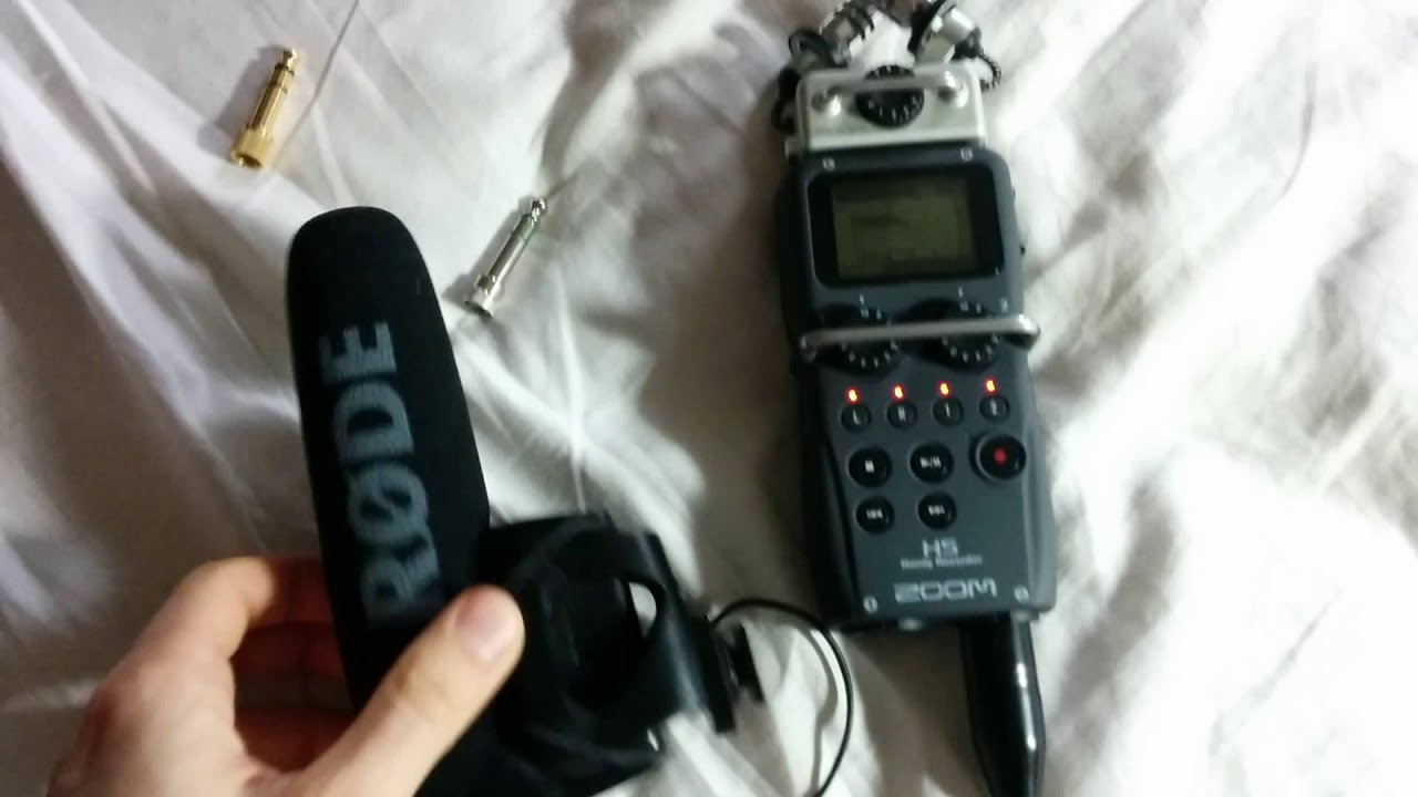 Zoom H5 faulty XLR inputs
