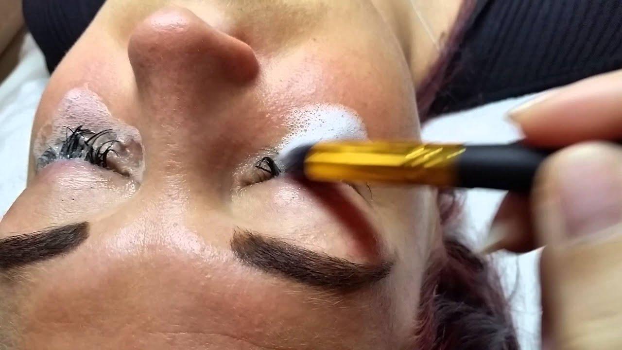 b27c91d392c Eyelash extension cleanser - YouTube