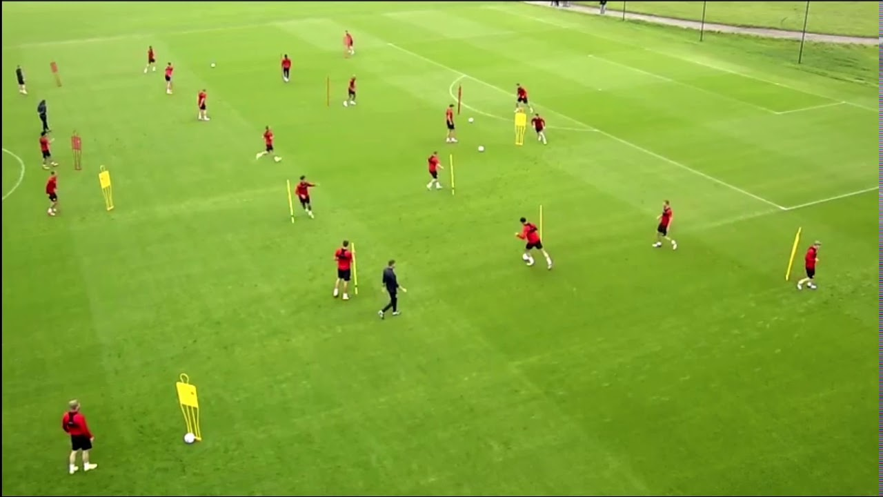 Middlesbrough - F.C. - passing circuit - two variations