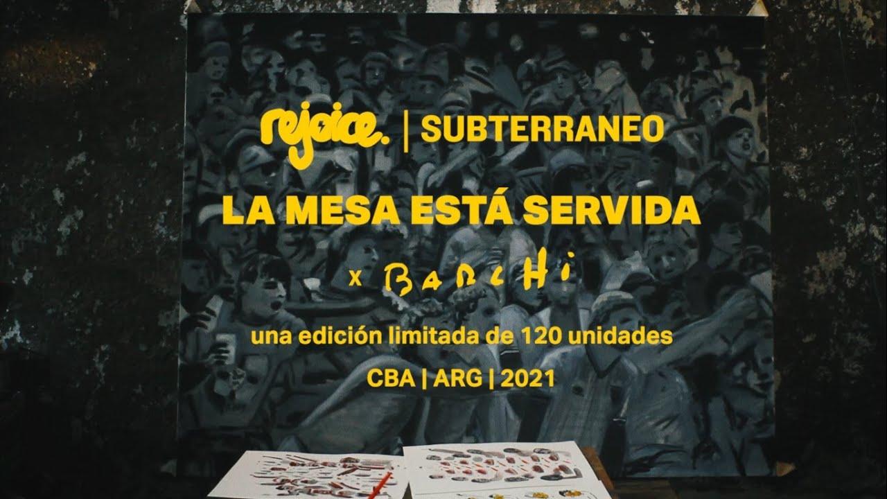 'LA MESA ESTÁ SERVIDA' x BARCHI