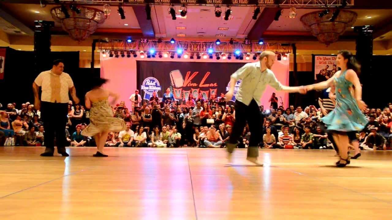 Jive Dance Contest At Viva Las Vegas Rockabilly Weekend