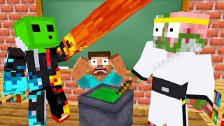 Monster School : ALCHEMY CHALLENGE - Minecraft Animation