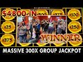$4800 Group Pull 🐼 Massive 300x 🐼 Panda Magic JACKPOT!