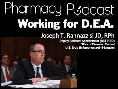 Working with the DEA in Pharmacy (PART 1) - Pharmacy Podcast Episode 430