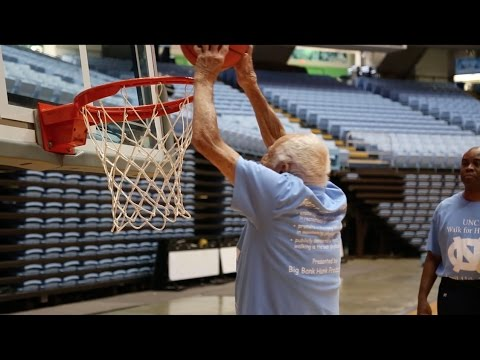 96-year-old UNC basketball legend: Dribbling, Dunking, Dancing in the Dean Dome!