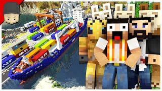 Hermitcraft 7 | Ep.18: THE CONTAINER SHIP & THE WORST DEAL!