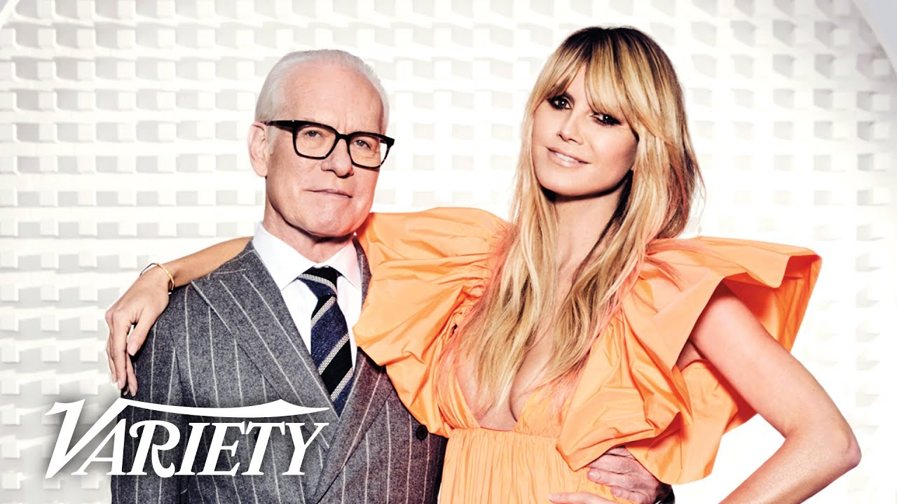 Heidi Klum Tim Gunn Talk Moving On From Project Runway To New Fashion Show Making The Cut Youtube