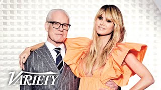Heidi Klum & Tim Gunn Talk Moving on From 'Project Runway' to New Fashion Show 'Making the Cut'