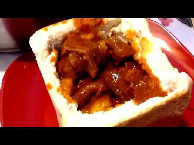 How to Make Durban Mutton Bunny Chow