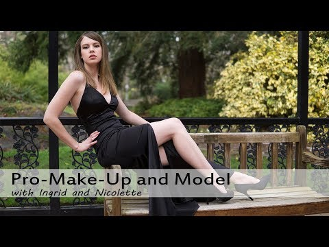 Model Photo shoot with Professional Makeup and Epic Location - Vlog 112