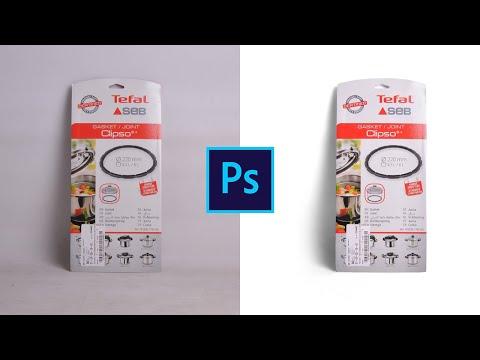 Как сделать белый фон на фото товара в фотошопе