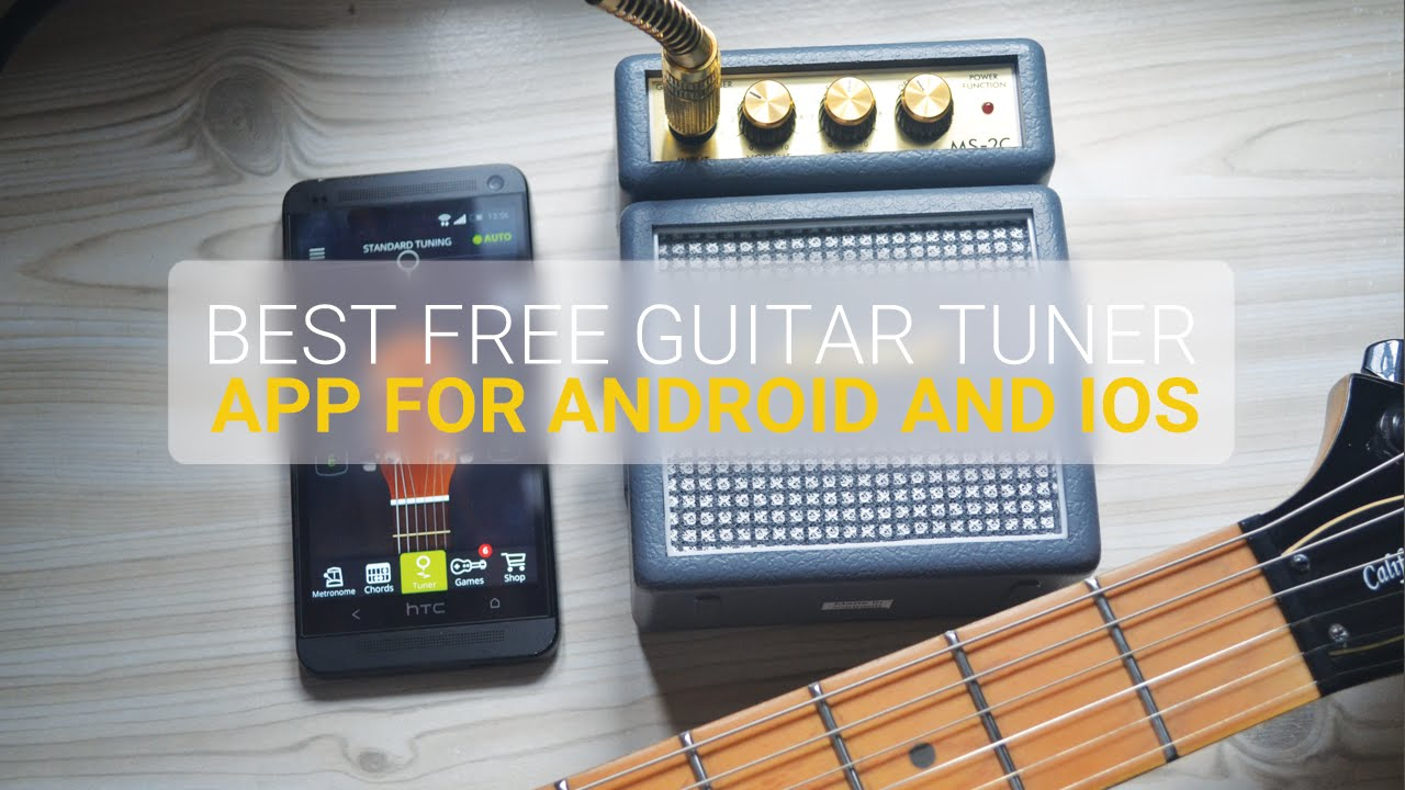 best free guitar tuner app for android ios and windows phone youtube. Black Bedroom Furniture Sets. Home Design Ideas