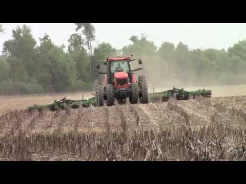 AGCO DT250B Tractor and 40ft Great Plains Ultra-Till
