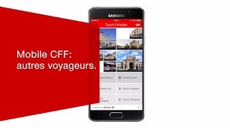 Mobile CFF: autres voyageurs.