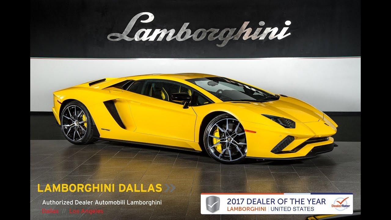 2018 Lamborghini Aventador S New Giallo Orion 18l0056 Video Phim22 Com