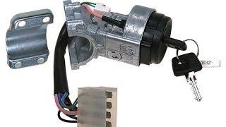 Обзор замены замка зажигания ВАЗ 2110-2112