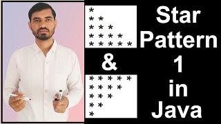 Deepak tarafından Java (Mantık) yıldız Deseni - 1 Programı