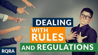 """S2 Ep 19 -  """"Dealing with Rules and Regulations """" Raw Questions-Relevant Answers"""