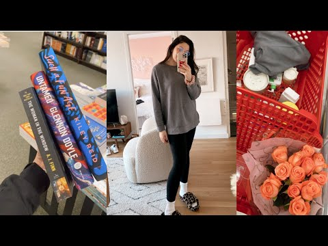 days in my life | target haul, book haul + so many packages!! (NYC/long island)