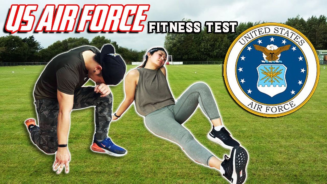We tried the US Airforce Fitness Test without practice (Shua & Emy)