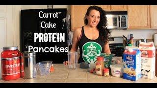Carrot Cake Protein Pancake Recipe