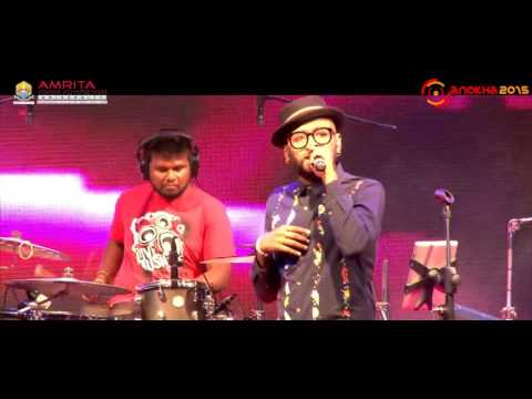 [ Official Video ] Benny Dayal Performance at Anokha 2K15 | Amrita University