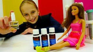 Видео для девочек #Барби и Тереза: Как сделать духи из ЭФИРНЫХ МАСЕЛ?!  Видео про кукол