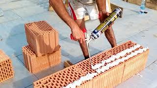 Jaka zaprawa do murowania - Test klejopiany wytrzymałość - Budowa domu