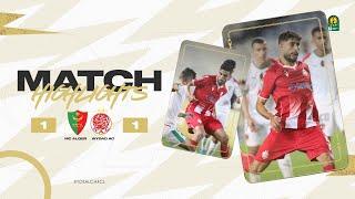 HIGHLIGHTS   MC Alger 1 - 1 Wydad AC   Quarter-finals 1st leg   #TotalCAFCL
