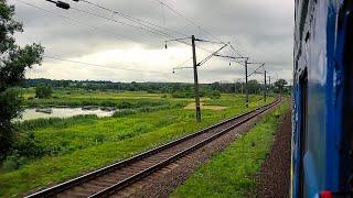В направлении Львова оставив позади Таракановский Форт Участок Дубно - Броды из окна поезда