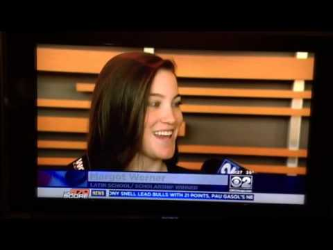 Margot Werner Chicago Blackhawks TV story