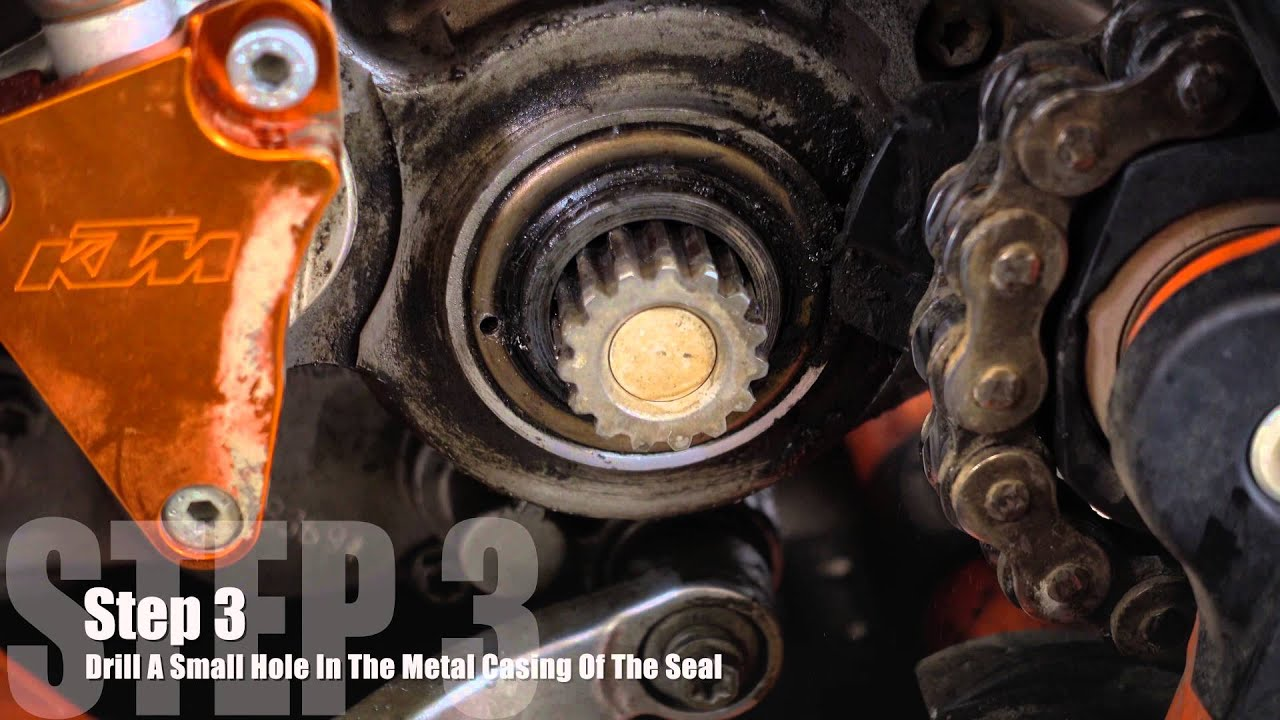 Ktm 300 Countershaft Seal Replacement Youtube