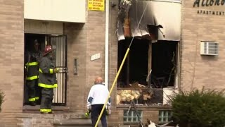 At least 6 hurt in apartment fire on Detroit's west side